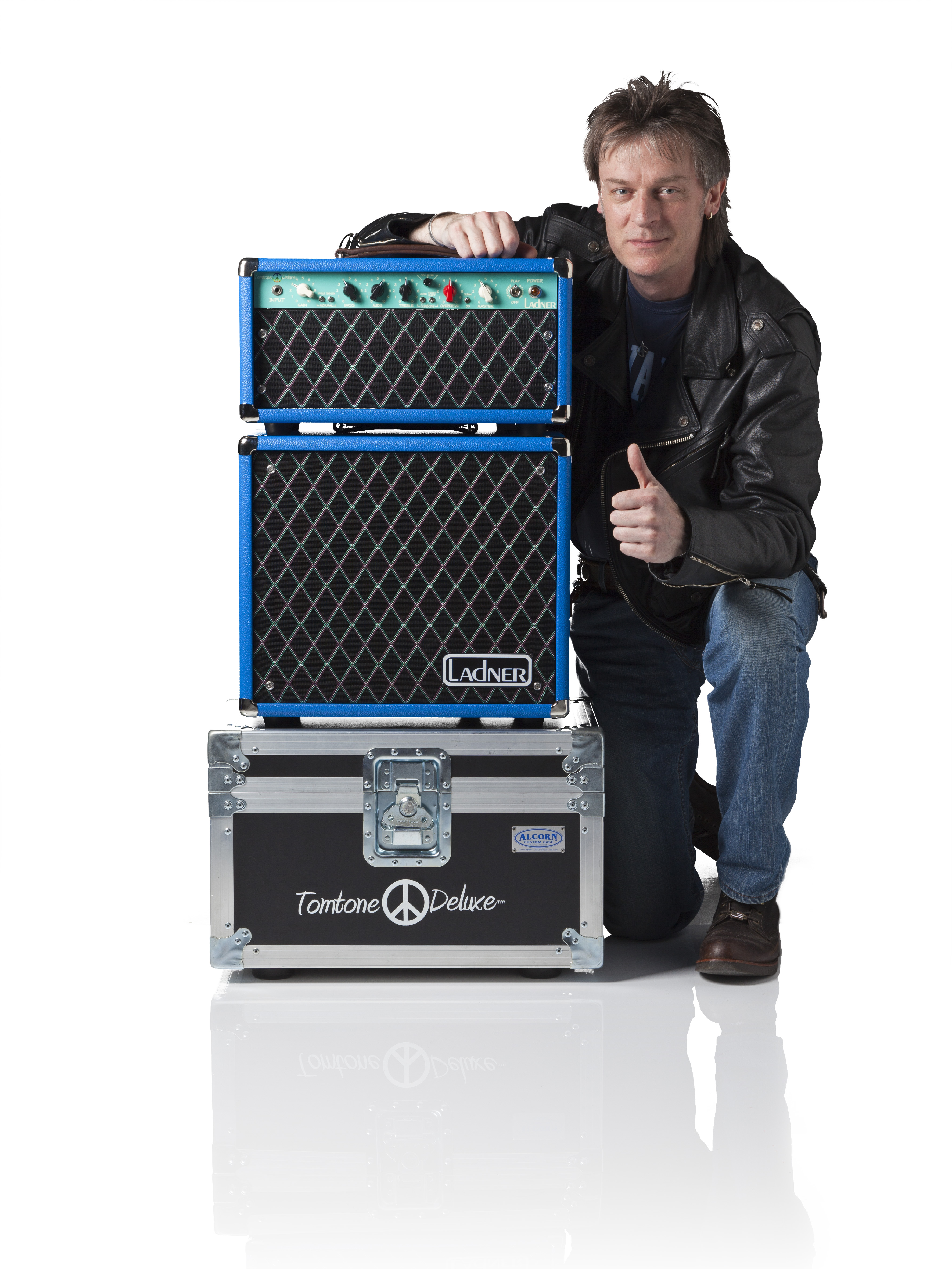 Press Photo Ladner Tomtone Deluxe™ Tom Riepl Signature Amplifier