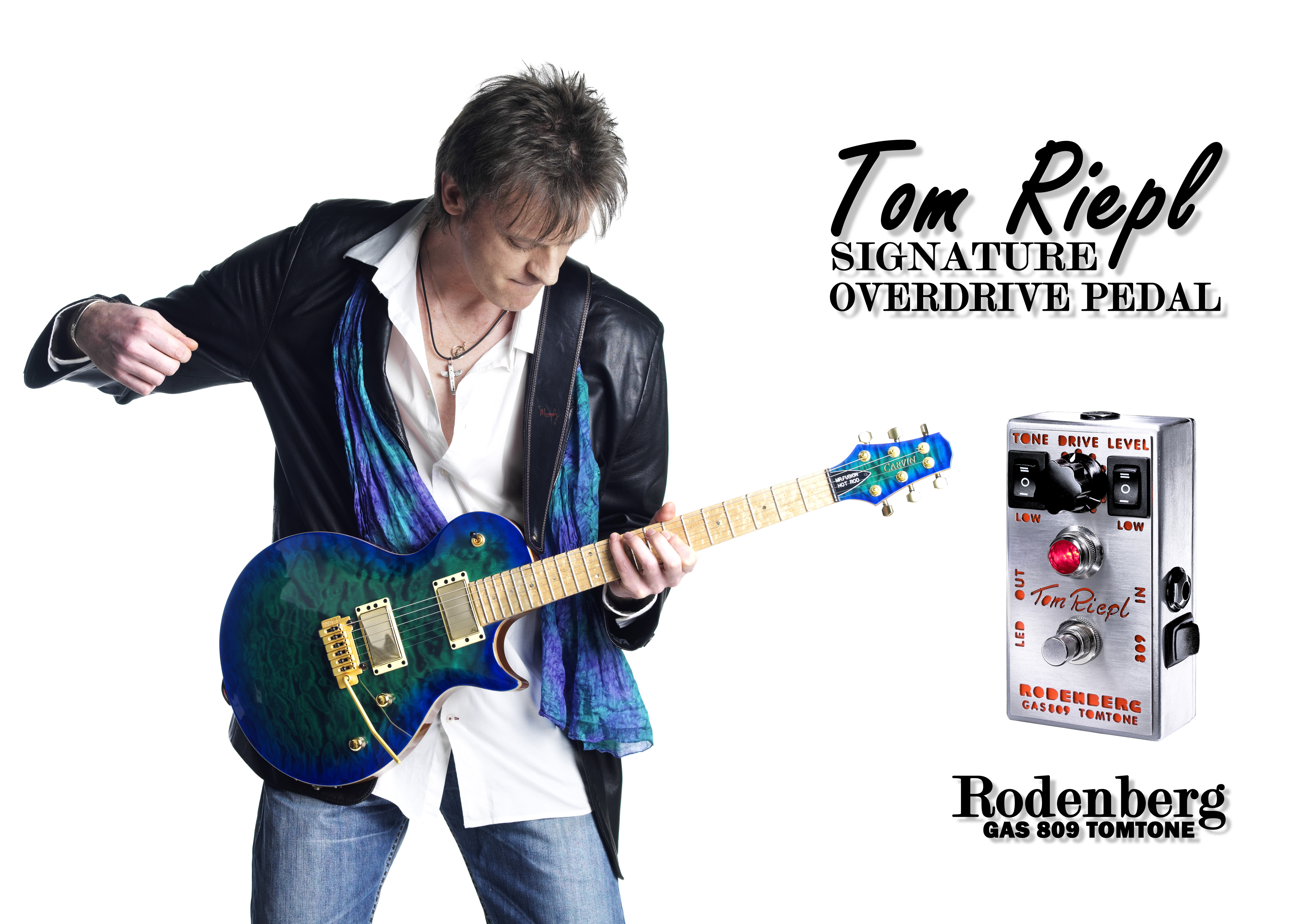 Press Photo Rodenberg Tom Riepl Signature Overdrive Pedal